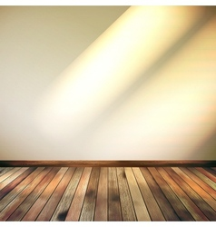 Empty Beige lines wall room EPS 10 vector image vector image