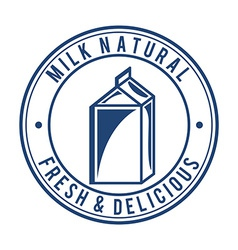 Milk design vector