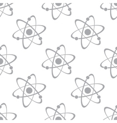 New atom seamless pattern vector