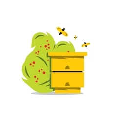 Hive cartoon vector
