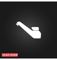 Drinking faucet icon vector image vector image
