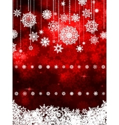 Red shiny christmas background eps 8 vector