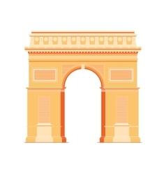 Arc de triomphe - triumphal arc in paris france 4 vector
