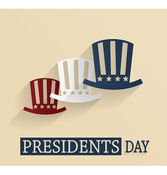 Presidents day vector
