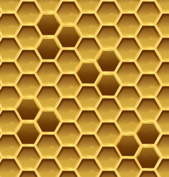 Create honeycomb with larvae texture vector