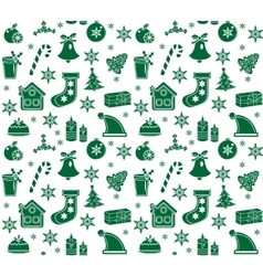 Christmas seamless pattern background texture vector