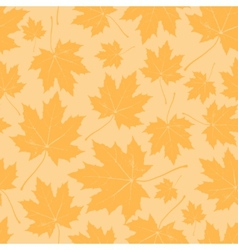 Vintage floral autumn fall seamless pattern with vector