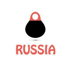Russian matryoshka doll vector