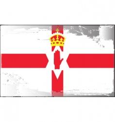 Ulster banner vector