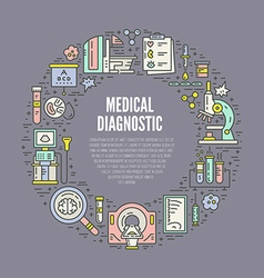 Medical check-up vector