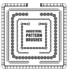 Design element vintage frames vector