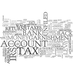 Arizona tax attorney text word cloud concept vector