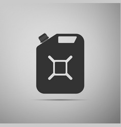 canister for gasoline icon isolated diesel gas vector image