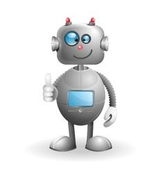 Cartoon robot vector