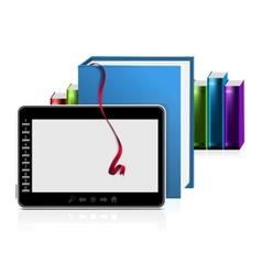 e book reader vector image vector image