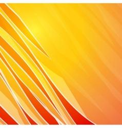 Orange Banner vector image vector image