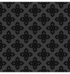 Arabic black and white pattern vector