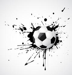 football vector image vector image