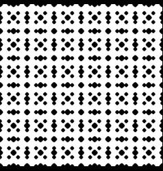 polka dot seamless pattern black white subtle grid vector image