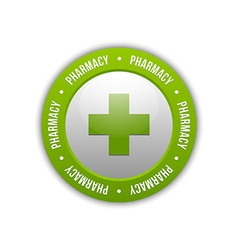 Medical cross pharmacy symbol vector