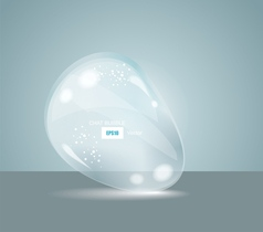 Idea Bulbs Glass Chat Bubbles vector image