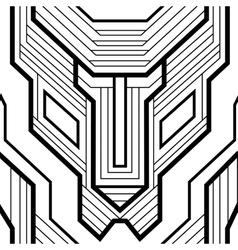 Seamless geometric vector