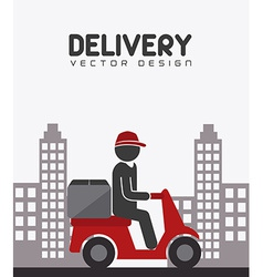 Delivery design vector
