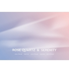 Abstract rose quartz and serenity wavy background vector