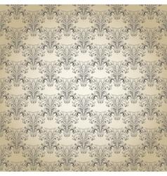 Seamless vintage pattern Eps 10 vector image
