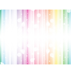 Abstract background of the rainbow vector image