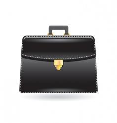 Black bag icon vector