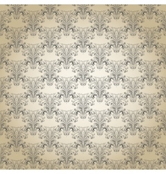 Seamless vintage pattern Eps 10 vector image