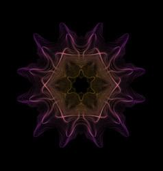 Warped parametric glitch shape vector