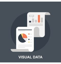 Visual data vector