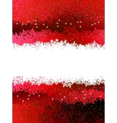 Christmas red background EPS 8 vector image