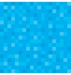 Abstract block texture blue pixel vector