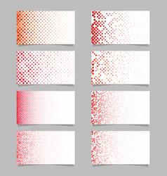Abstract digital diagonal rounded square mosaic vector