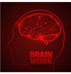 Brain work 1 vector