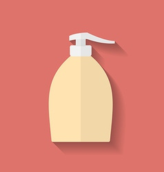 Icon of liquid soap flat style vector