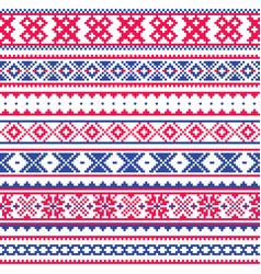 lapland traditional folk art design sami vector image vector image
