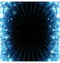 Magic Christmas Background vector image