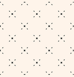 simple geometric seamless pattern with tiny grid vector image vector image