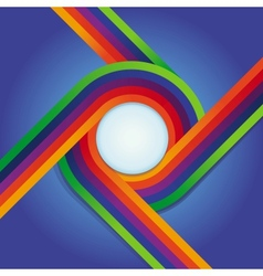 abstract background in rainbow colours vector image