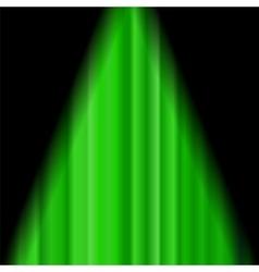 Cinema Closed Green Curtain vector image vector image