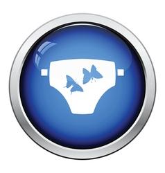 Diaper icon vector