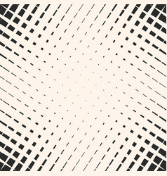 halftone geometric seamless pattern crossing line vector image