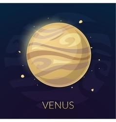 The planet venus vector