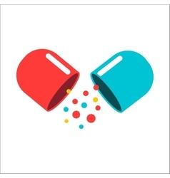 Tablet pill vector