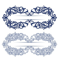 antique retro lace background vector image