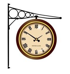 Station clock vector